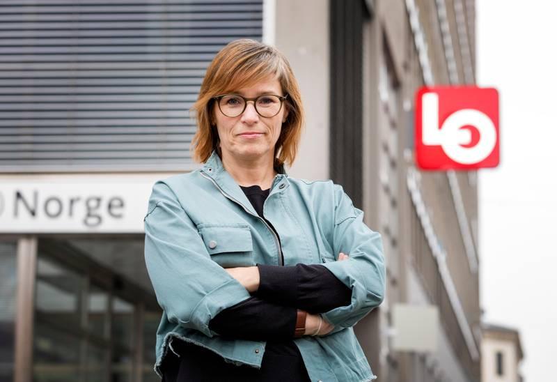 Oslo, NORGE 20200207.  Trine Lise Sundnes, avtroppende leder i Handel og Kontor og ny leder av internasjonal avdeling i LO. Foto: Gorm Kallestad / NTB