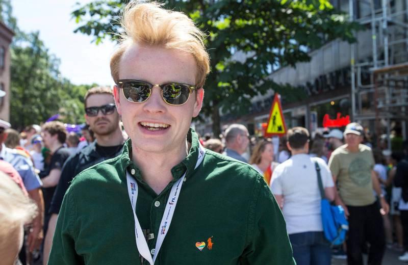 Fredrik Dreyer, festivalsjef Oslo Pride.