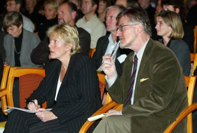 Kristin Clemet og Gudmund Hernes