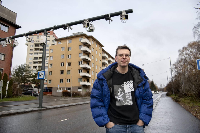 Bjørn Revil, gruppeleder for FNB i bystyret.