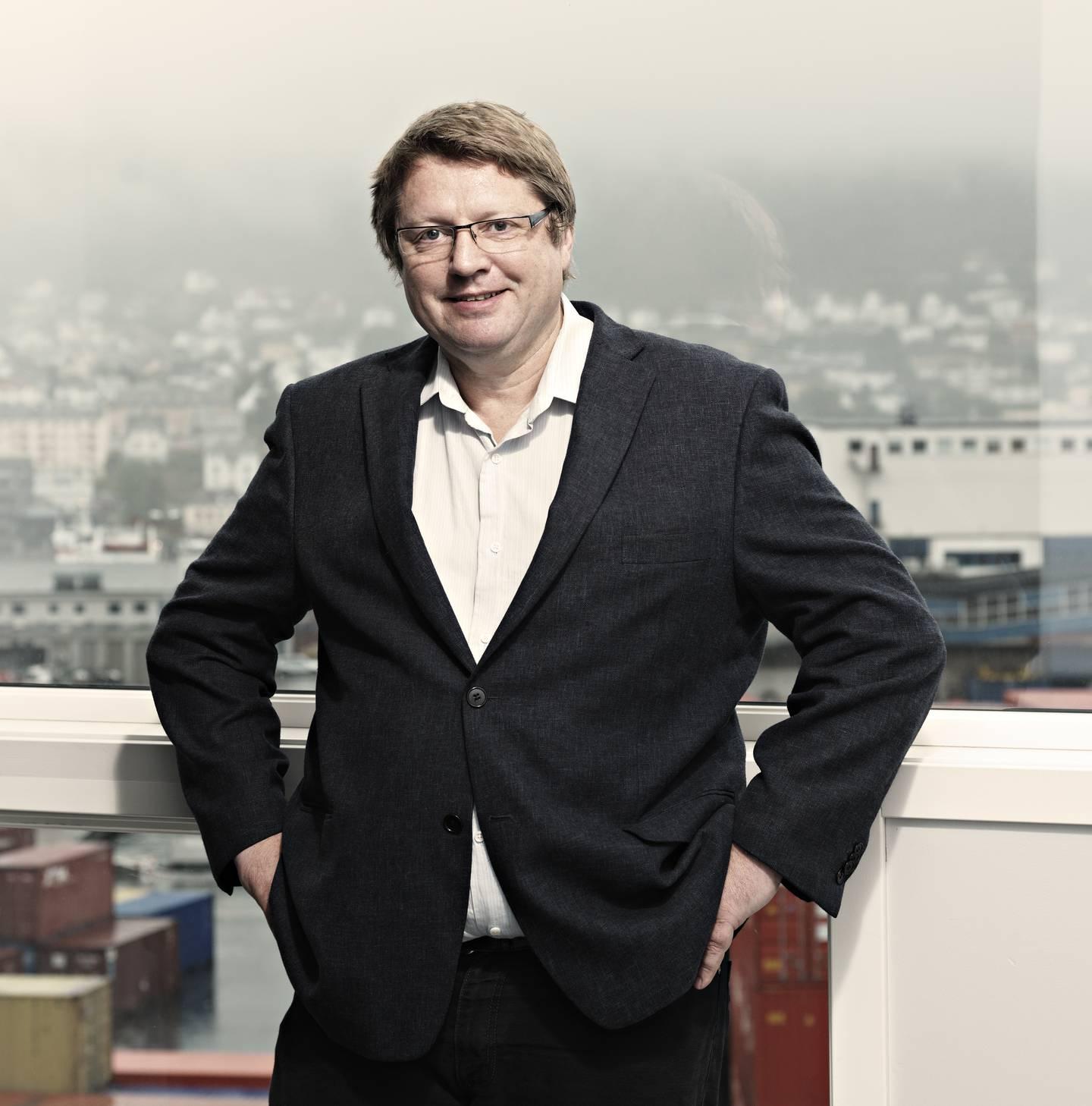 Arne Strand i Chr. Michelsens institutt