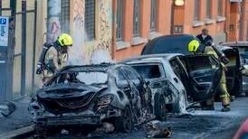 19-åring tiltalt for skyting og bilbrann i Oslo