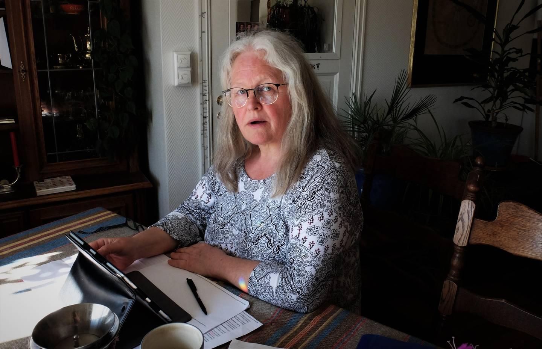 Elisabeth Thoresen, leder for AAP-aksjonen, har fått tilsendt det interne Nav-skrivet anonymt. Hun mener det viser en skremmende behandling av syke mennesker.