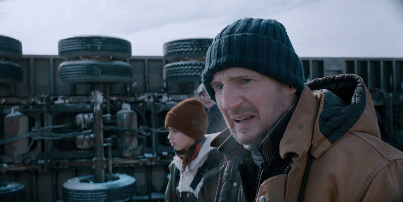 Liam Neeson i The Ice Road.