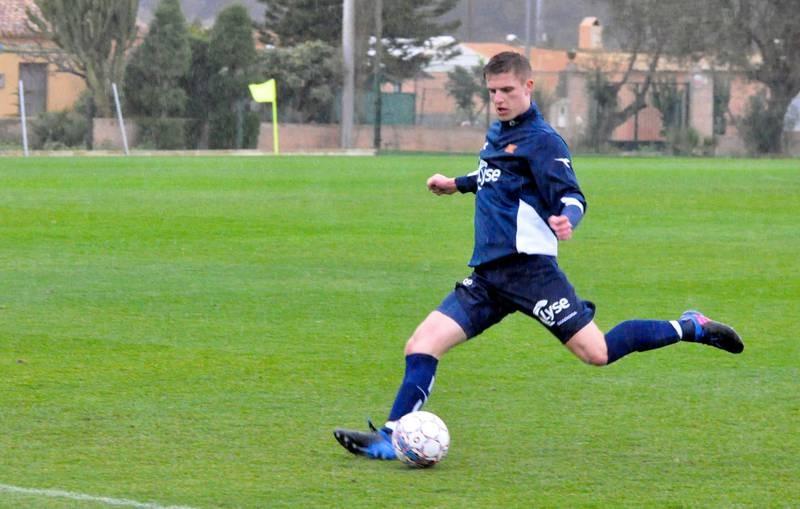 19-årige Michael Ledger har imponert trenere og lagkamerater i Viking etter han kom på lån fra Sunderland. Nå jobber klubben med å få han på lån ut hele sesongen. Foto: Espen Iversen