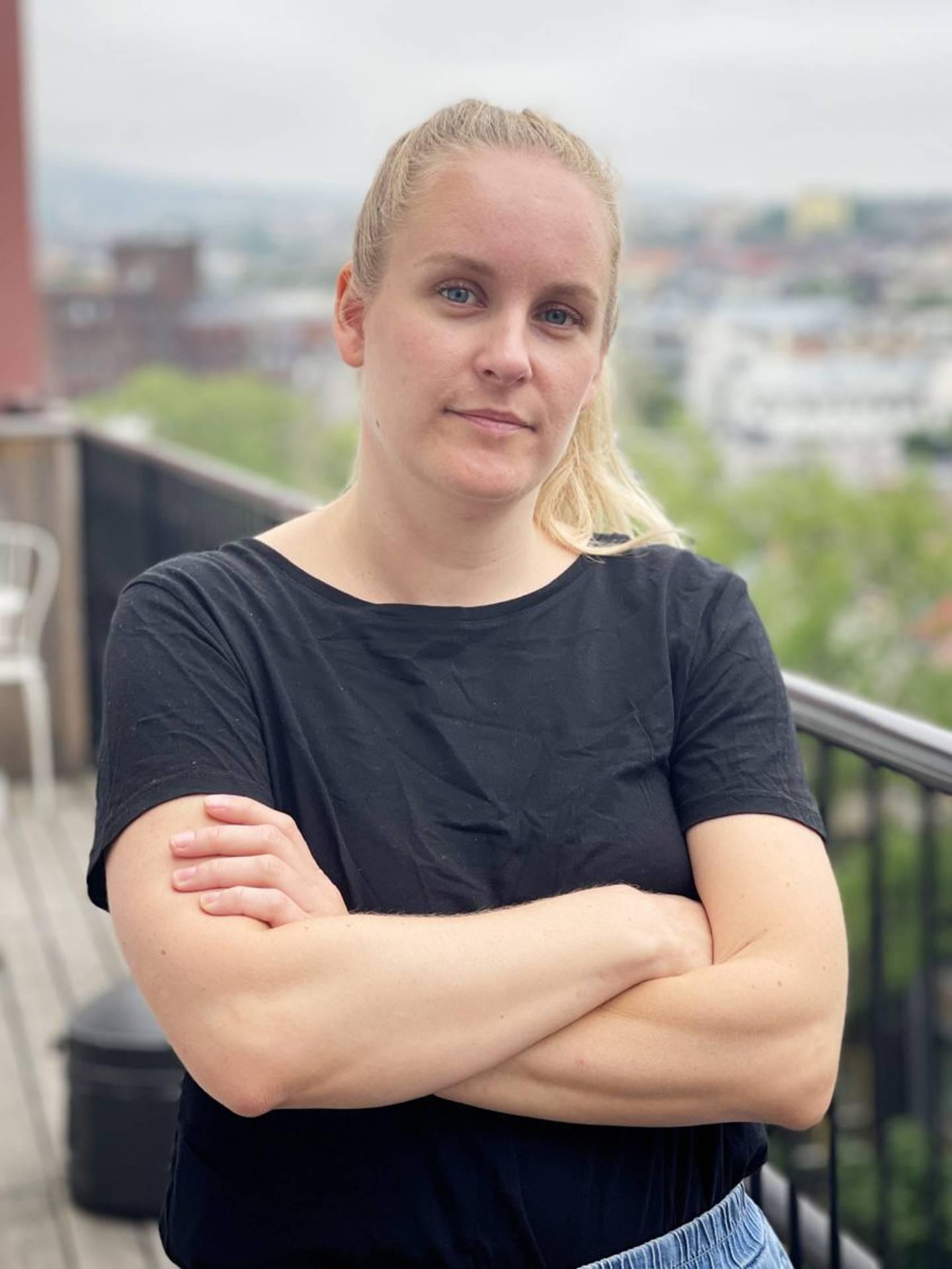 Mari Røsjø, leder Fagforbundet Teater og Scene.