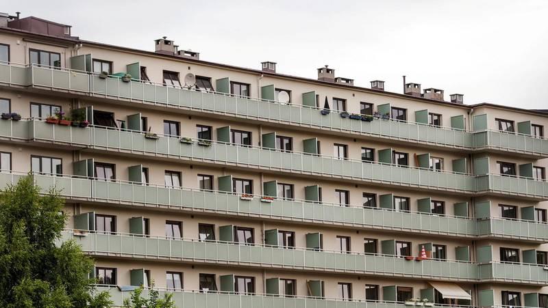 Kravet om en sosial boligbygging var også et krav om at folk skulle få eie sin egen bolig.