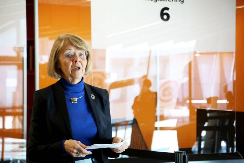 Direktør for helse og velferd i Stavanger, Eli Karin Fosse, synes vaksineringen av kommunens innbyggere har gått kjempebra til nå. Hele 25.800 personer har fått første dose.