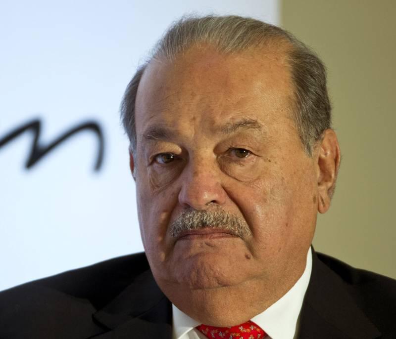 2. rikest: Mexicanske Carlos Slim er verdt 77,1 milliarder dollar. FOTO: NTB SCANPIX