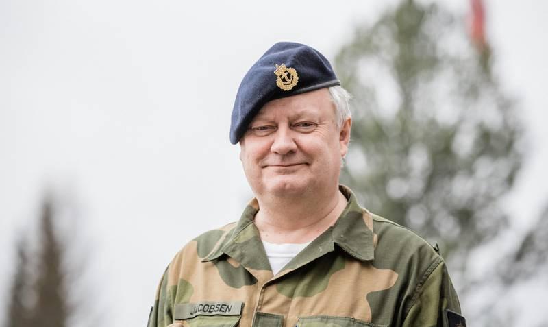 Kommandørkaptein Svein Jacobsen.