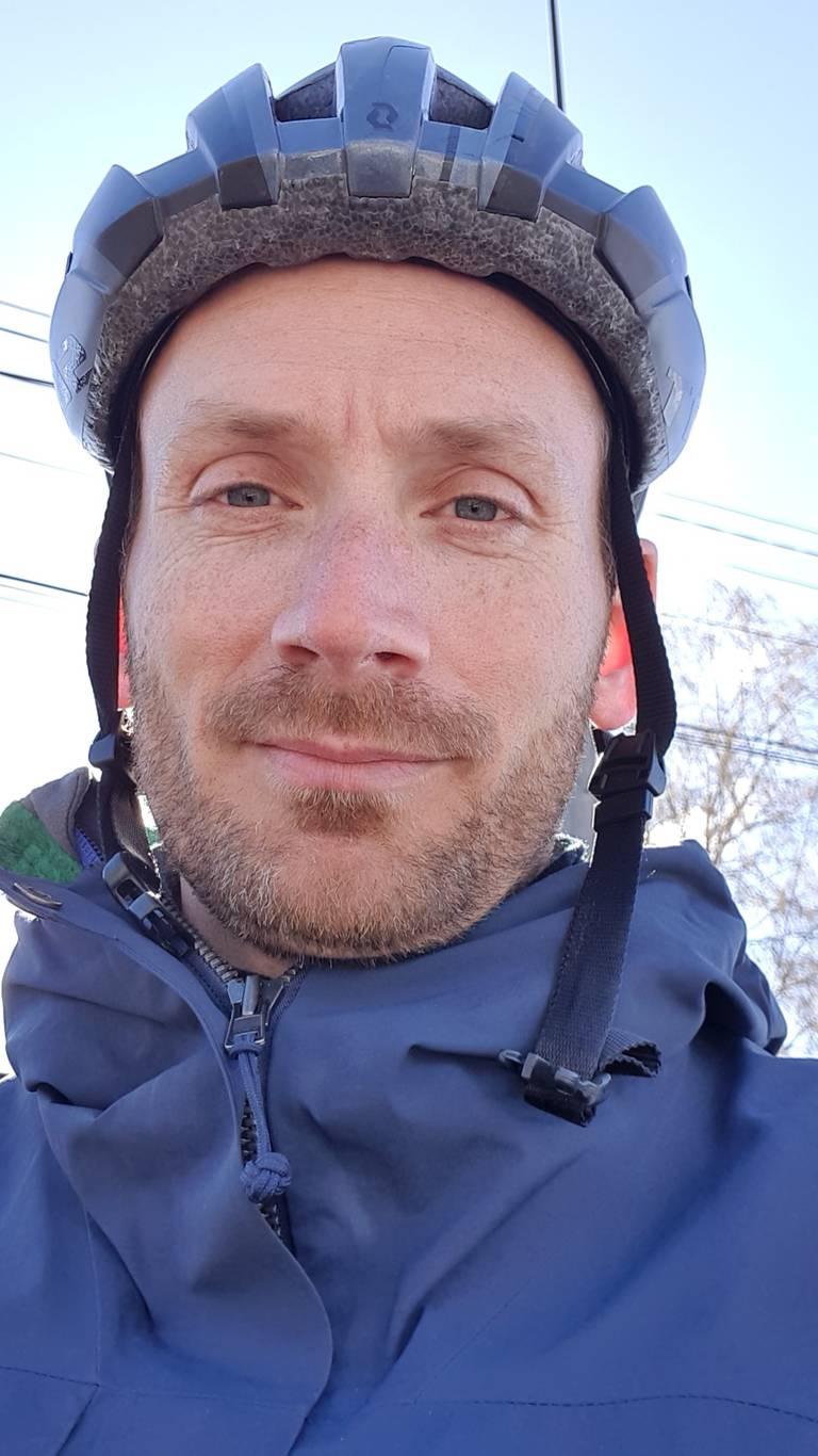 Øystein Buran, programleder Fredrikstad kommunes sykkelprogram