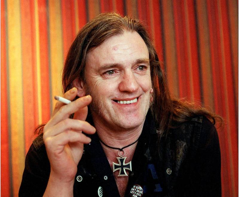 Lemmy beskrives av de som kjente ham som en fyr som alltid var i godt humør. FOTO: Arne Ove Bergo