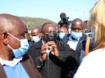 212 døde i Sør-Afrika: Presidenten skylder på «fiender av demokratiet»