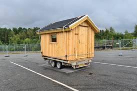 Hytte på henger ble politisak på Svinesund