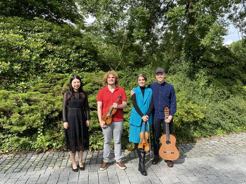 YiRan Jia fra Kina, Laurens Weinhold , Larissa Terescenko og Tormund Blikra Vea  skal alle være med på festivalen.