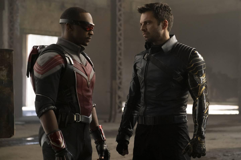 Anthony Mackie og Sebastian Stan har fått for lite kred i rollene som Sam Wilson/Falcon og Bucky Barnes/Winter Soldier, men i sin egen serie får de vise hva de er gode for.