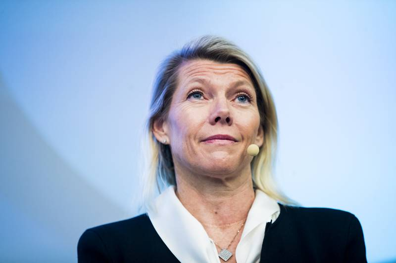 Konsernsjef Kjerstin R. Braathen i DNB understreker at de tar kritikken alvorlig. Foto: Terje Pedersen / NTB