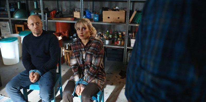 Aksel Henie og Noomi Rapace i «I onde dager».