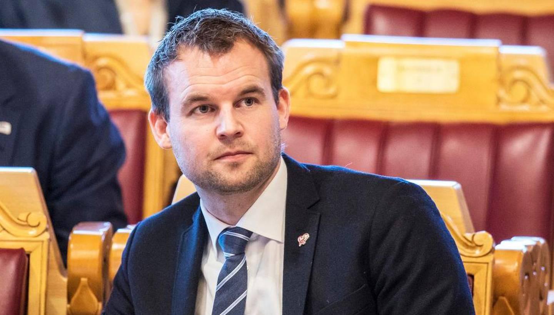 Oslo 20191120.  Barne- og familieminister Kjell Ingolf Ropstad (KrF) i Stortingets spørretime onsdag. Foto: Ole Berg-Rusten / NTB scanpix