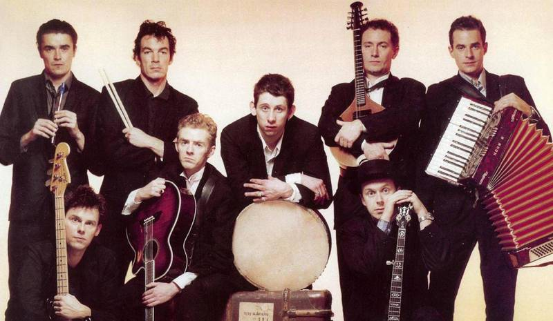 The Pogues i 1987, fra forsida av albumet «If I Should Fall From Grace With God». Foto: Stiff Records
