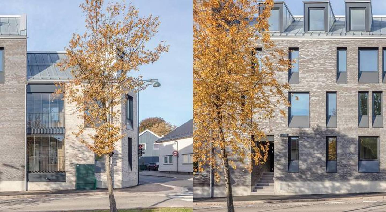 Ankers Hage - boligkompleks som inneholder både gamle og nye elementer.