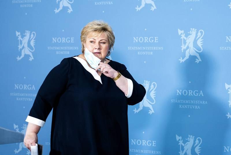 I dag skal statsminister Erna Solberg og helseminister Bent Høie snakke om hva som blir vaksinestrategien framover.