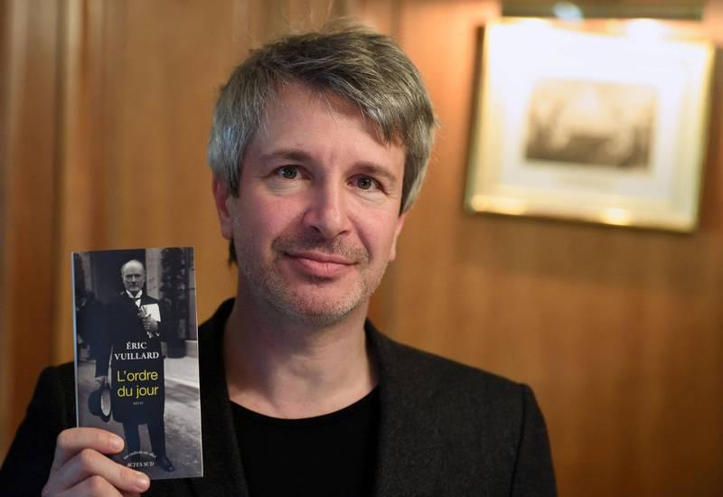 Franske Eric Vuillard har skrevet «Dagsordenen» («L'ordre du jour»), som viser hvordan tysk industri støttet nazistene, og hvor klønete nazistenes annektering av Østerrike faktisk var. FOTO: NTB SCANPIX