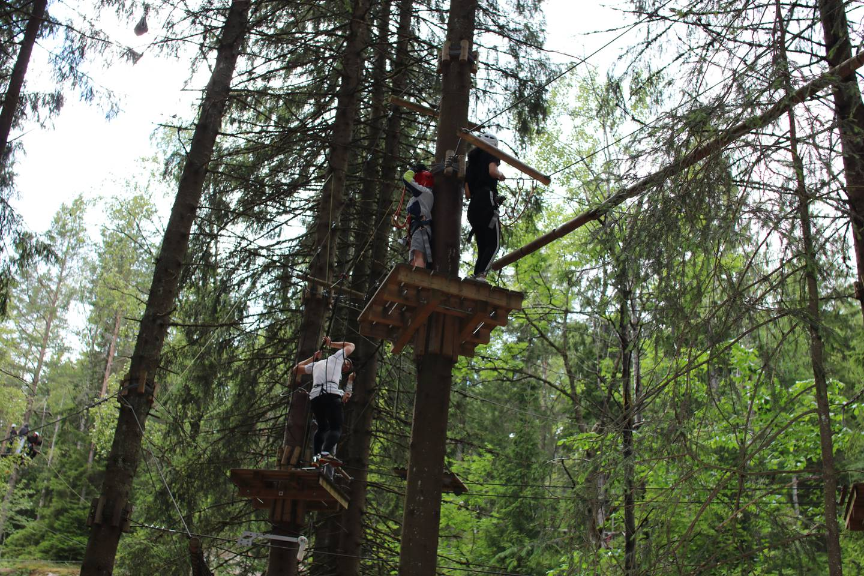 Ungdommer i Oslo Klatrepark