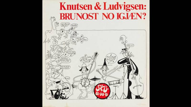 Knutsen & Ludvigsen: «Brunost No igjæn» (1970. Design: Øystein Dolmen/Knutsen & Ludvigsen.