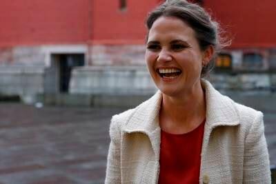 Ordfører Kari Nessa Nordtun er gravid