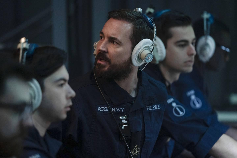 Martin Compston, kjent fra «Line of Duty» har rolle som ubåtoffiser i «Vigil».