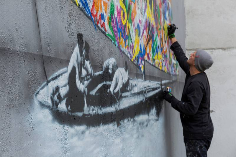 Internasjonale gatekunstnere skal utsmykke området langs Akerselva de neste tre årene.