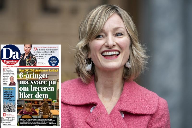 Skolebyråd Inga Marte Thorkildsen (SV) vender tommelen ned for sure- og smilefjeskartlegginga som Dagsavisen har omtalt.