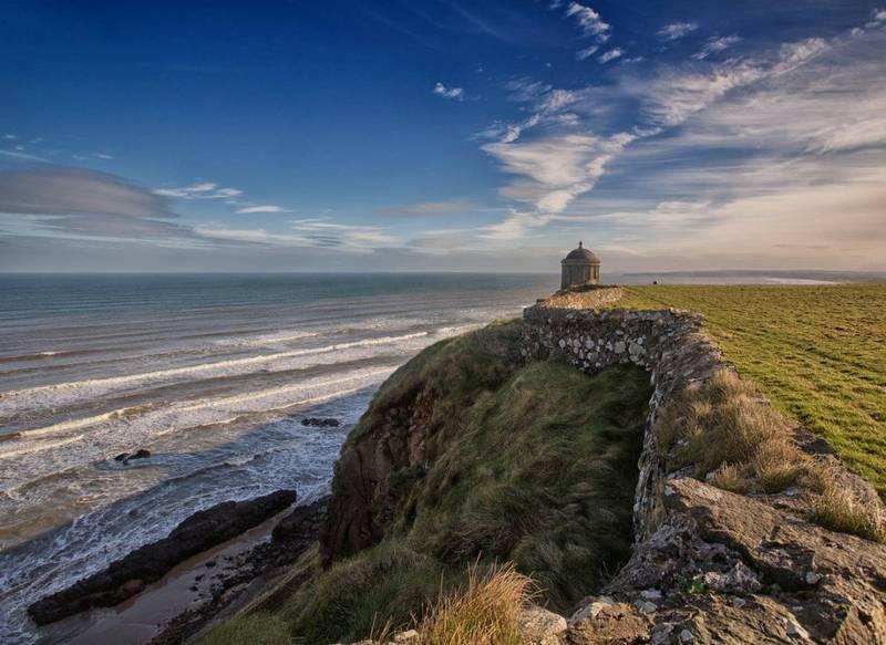 Downhill Strand, en liten bit av Dragonstone i Nord-Irland.  FOTO: VISIT IRELAND