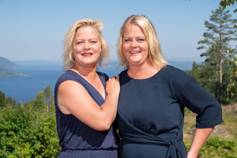 Trine og Trude er deltakere i årets sesong av Sommerhytta.