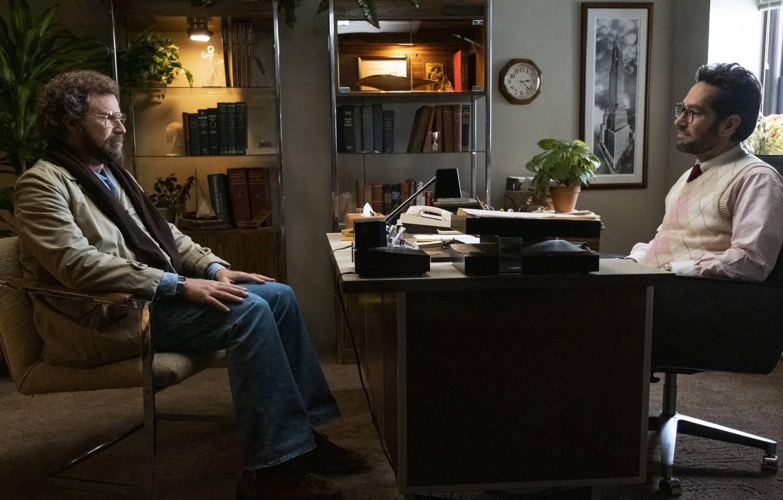 Høstens mest lovende komedie må være denne - med Will Ferrell og Paul Rudd på samme rolleliste. Sistnevnte er pasient, og Paul Rudd er terapeuten hans i «The Shrink Next Door». Kommer på AppleTV+ i november.