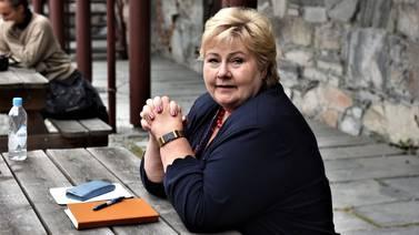 Erna Solberg mener det er små forskjeller i Norge: – Skremmende kunnskapsløst, svarer Agenda-sjefen