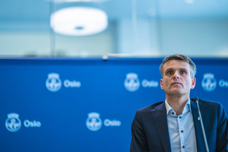 Einar Wilhelmsen leder arbeidet i Oslo MDG med å finne en erstatter for Lan Marie Berg som byråd. Foto: Stian Lysberg Solum / NTB