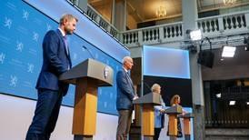 Regjeringen med pressekonferanse – kommer gjenåpningen nå?