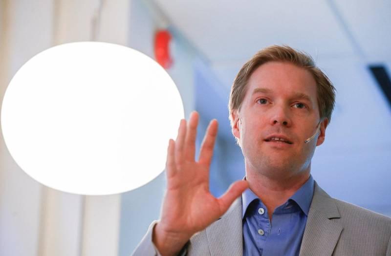 Historiker Hallvard Notaker har tidligere skrevet nøker om Høyre og amerikansk valgkamp.                    Foto: Terje Pedersen / NTB