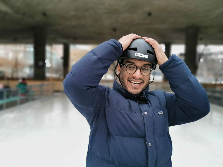 Omar Samy Gamal (SV) er byråd for kultur, idrett og frivillighet i Oslo.