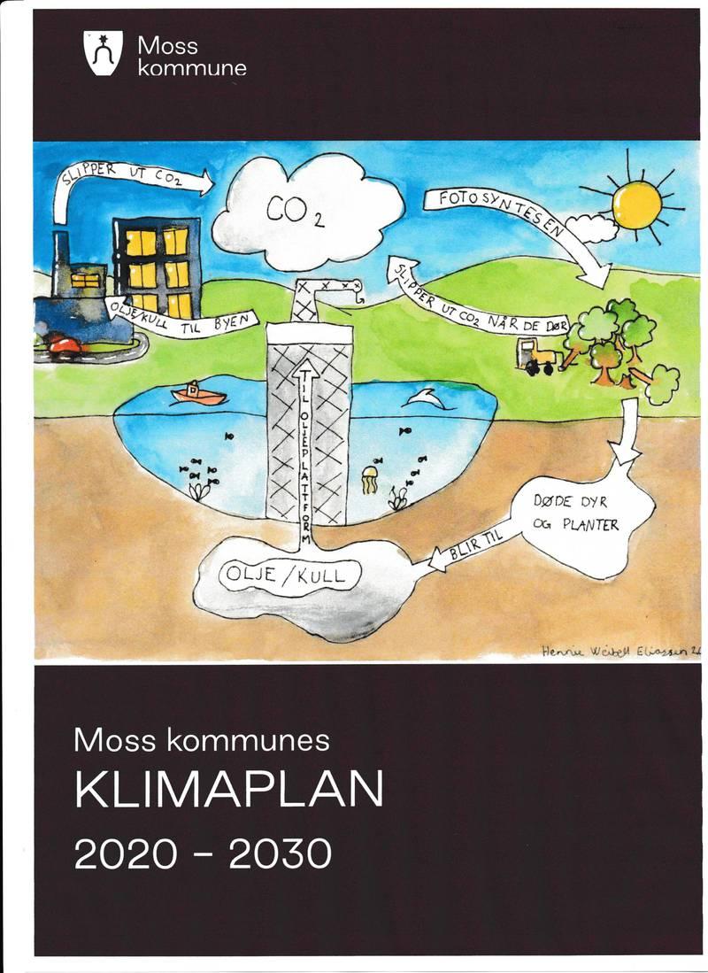 Klimaplan - Moss kommune - 2020-2030. Vedtatt i kommunestyret 18. februar 2021.