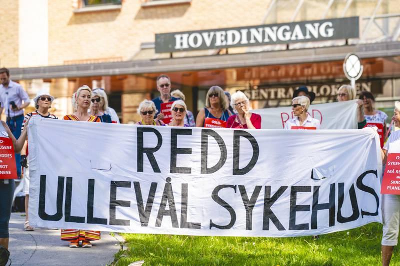 I årevis har forkjempere for Ullevål sykehus satt sin lit til at Senterpartiet skal lede sykehusets skjebne.