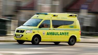 To skadd i arbeidsulykke på skole på Holmlia i Oslo