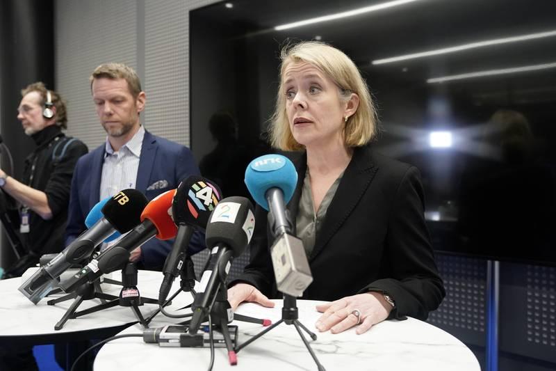 Oslo  20190314. PST holder pressekonferanse om truslene mot justisminister  Tor Mikkel Wara. Foto: Cornelius Poppe / NTB scanpix