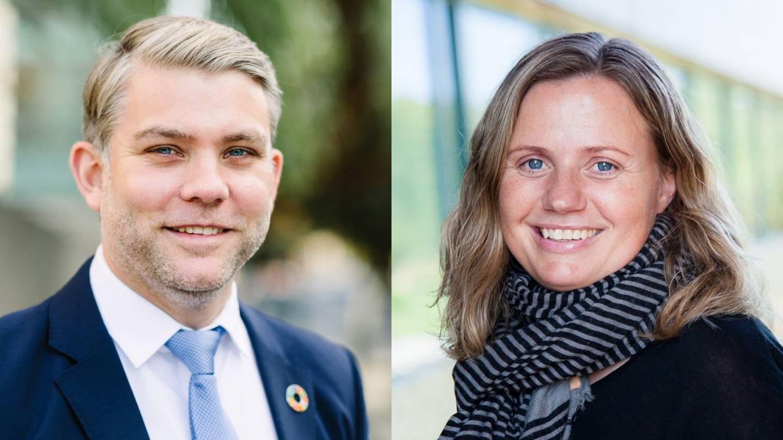 Kim Noguera Gabrielli, Adm. direktør i UN Global Compact Norge, og Stina Torjesen, Førsteamanuensis ved Universitetet i Agder.