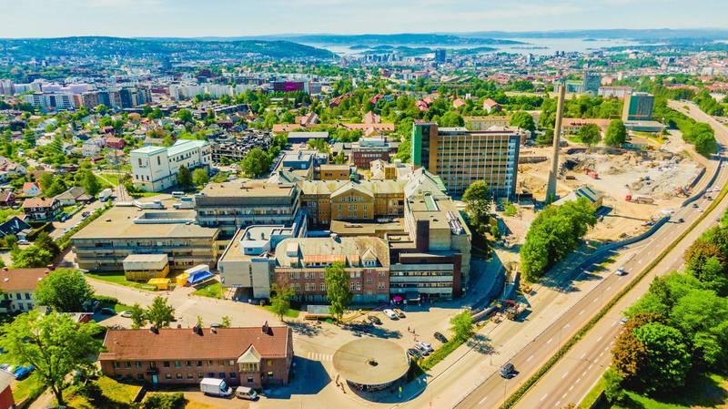 Hvorfor ikke fremskynde bygginga av Aker sykehus, spør Frode Jacobsen. Foto: Stian Lysberg Solum/NTB