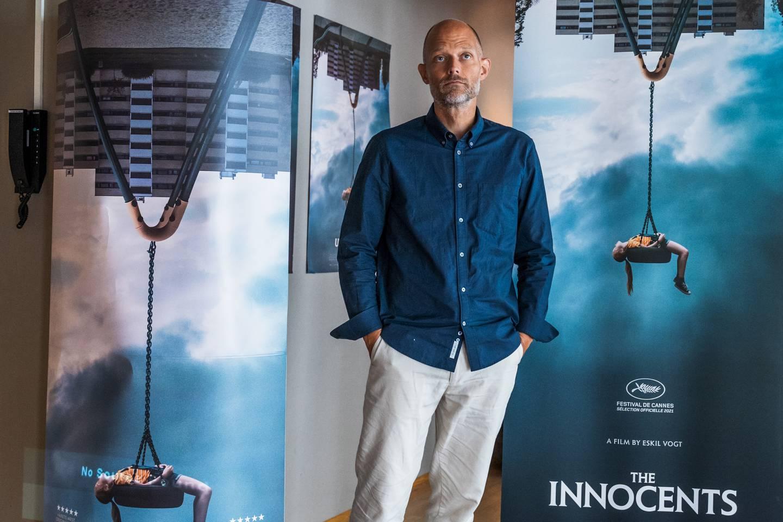 «De uskyldige»-regissør Eskil Vogt under NFI- presentasjonen av Filmhøsten 2021.