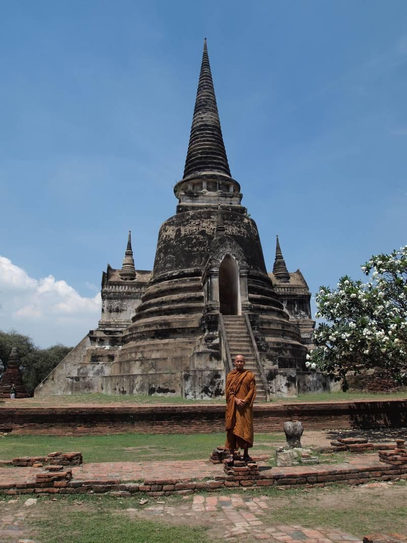 Lær deg buddhistisk meditasjon i Thailand. FOTO: CHRISTINE BAGLO
