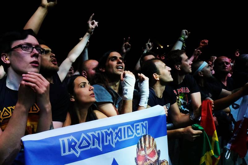 Iron Maiden har kanskje verdens mest trofaste fans, her i Telenor Arena.